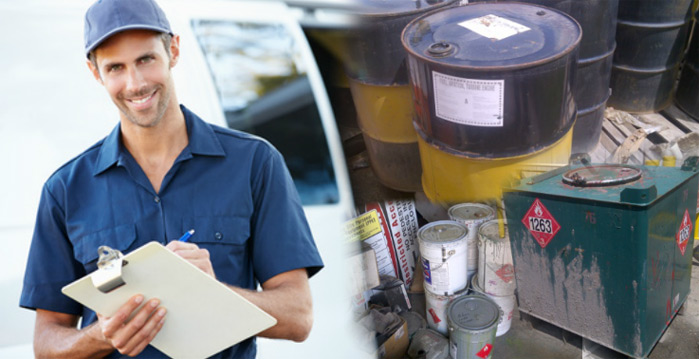 Workplace Hazardous Waste Services