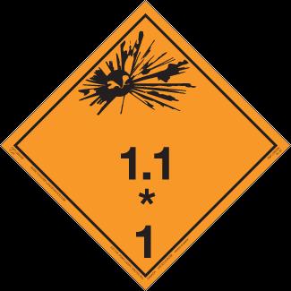 Class 1.1 – Explosives, Mass Explosion