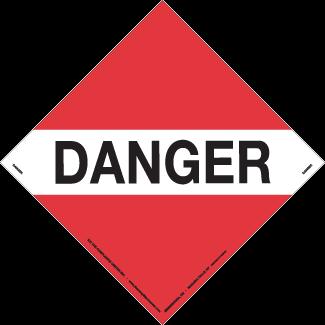 Danger – Placard