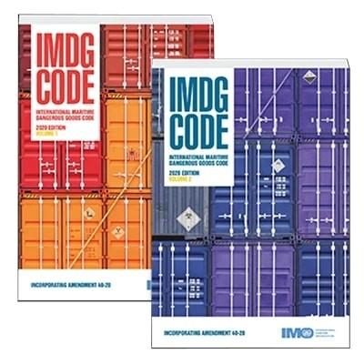 IMDG Code 2020 Edition, Amendment 40-20, 2 Volume Set