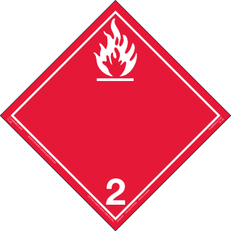 Class 2.1 – Flammable Gases
