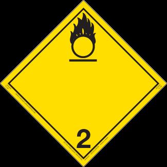 Class 2 (5.1) – Oxidizing Gas