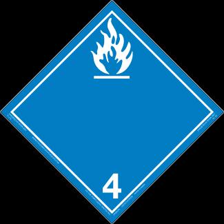 Class 4.3 – Water Reactive